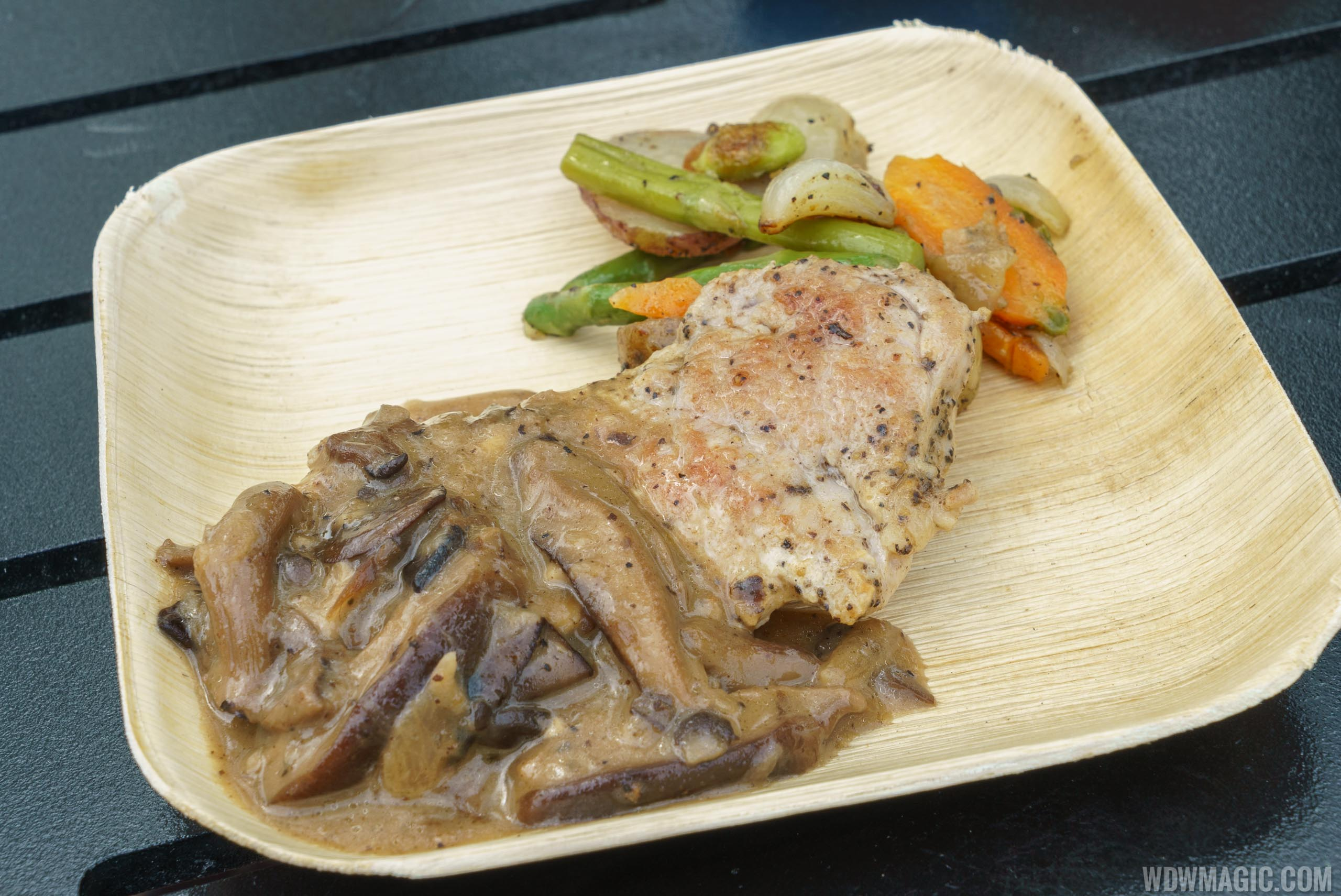 2016 Epcot Flower and Garden Festival Outdoor Kitchen - Urban Far Eats - Seared Pork Tenderloin