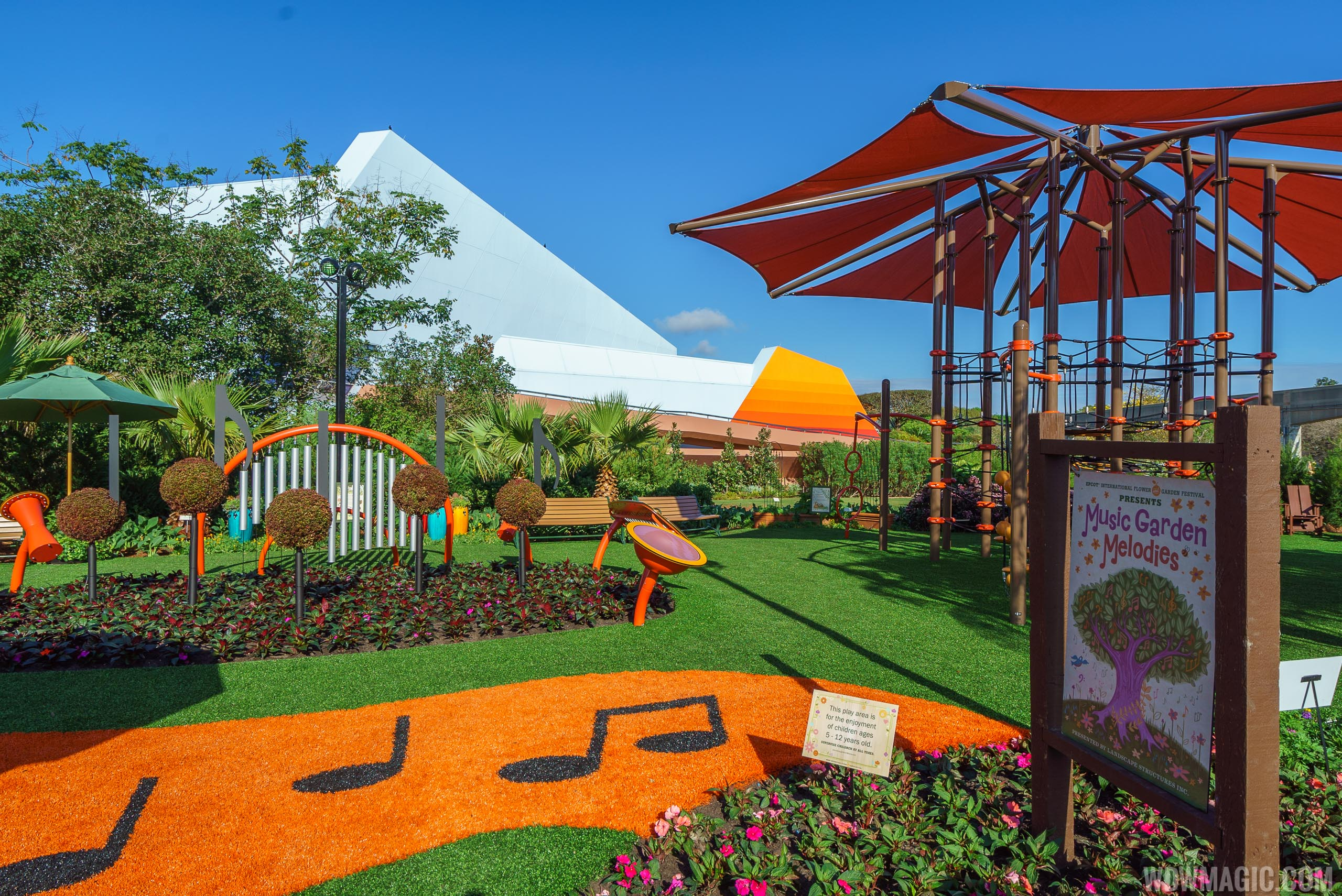 2017 Epcot International Flower and Garden Festival topiary tour ...