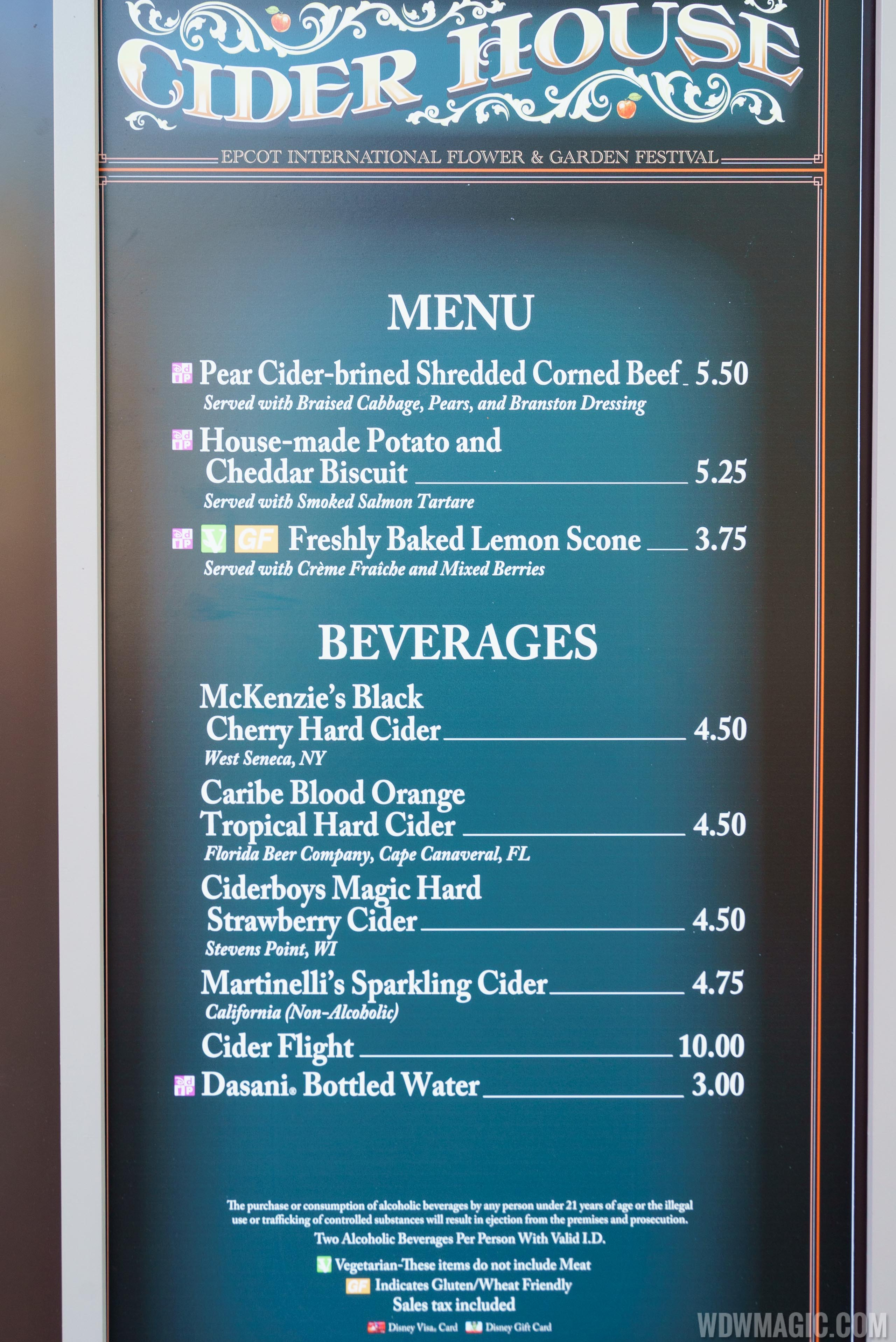 2017 Epcot Flower and Garden Festival Outdoor Kitchen kiosks and ...
