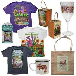 2018 Epcot Flower and Garden Festival merchandise