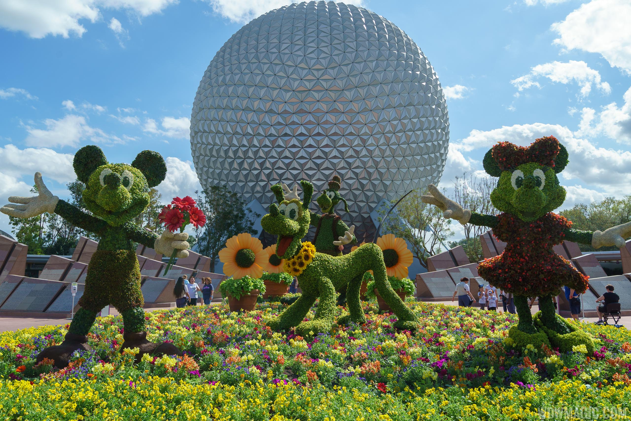 photos - take a tour of the 2018 epcot international flower and