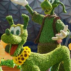 2018 Epcot International Flower and Garden Festival topiary tour