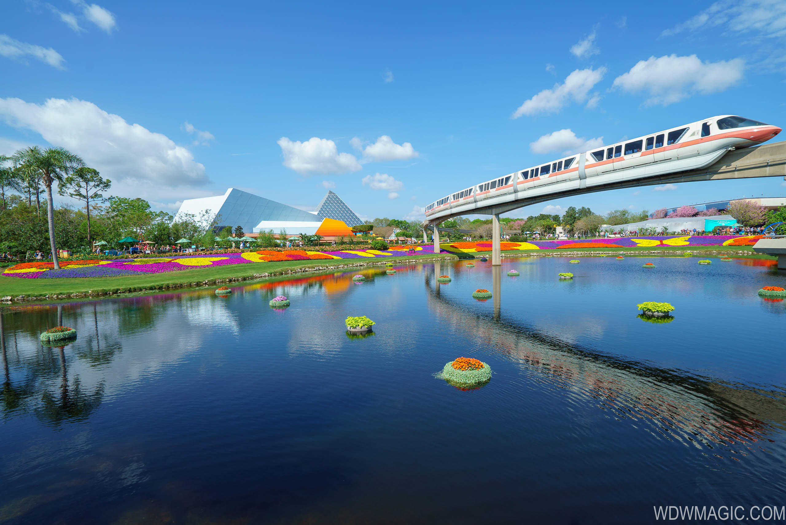 Epcot Flower and garden Festival in full bloom