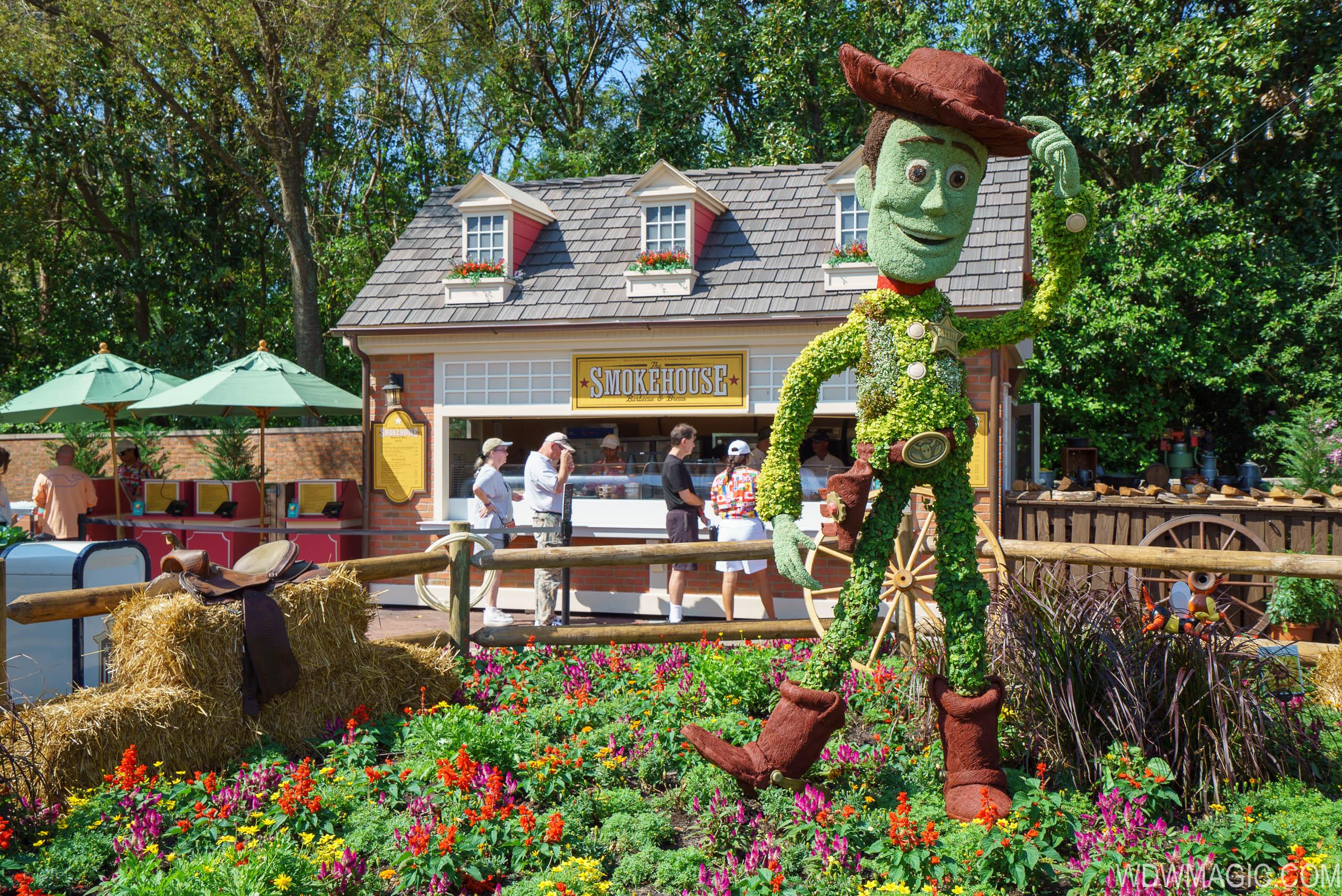 Photos 2018 Epcot Flower And Garden Festival Outdoor Kitchen Kiosks And Menus