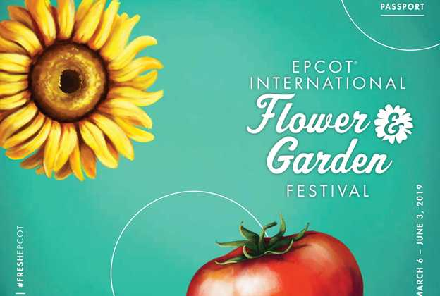2019 Epcot International Flower and Garden Festival Passport