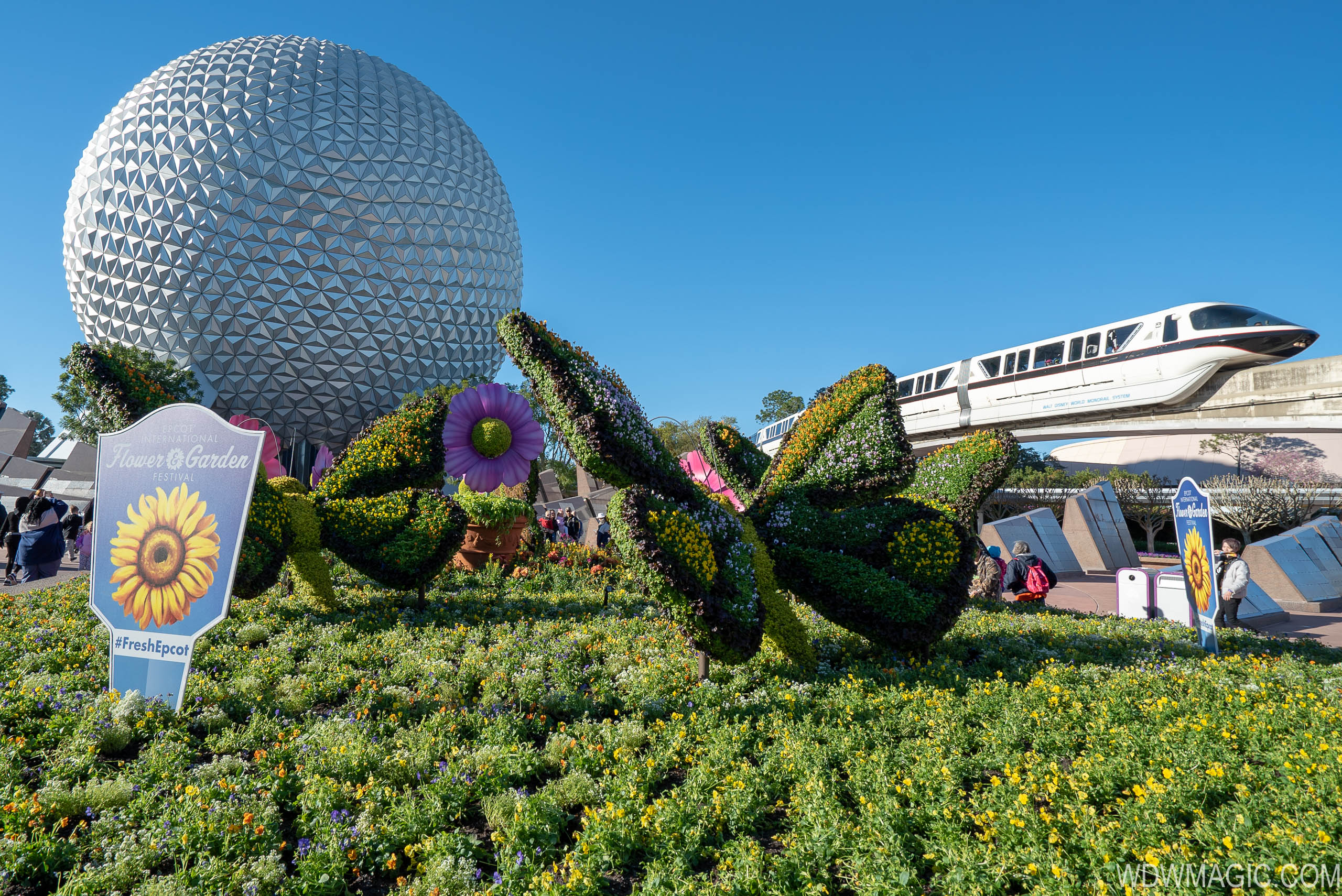 photos - tour the 2019 epcot international flower and garden festival