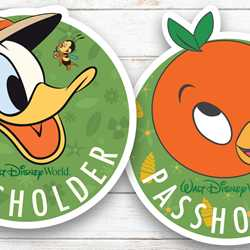 2020 Epcot Flower and Garden Festival passholder magnets and merchandise