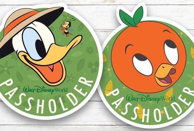 2020 Epcot Flower and Garden Festival passholder magnets and merchandise