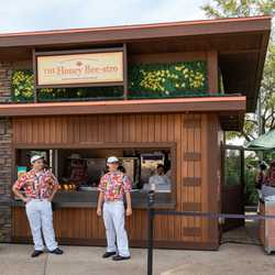 2020 Epcot Flower and Garden Festival Outdoor Kitchen kiosks and menus