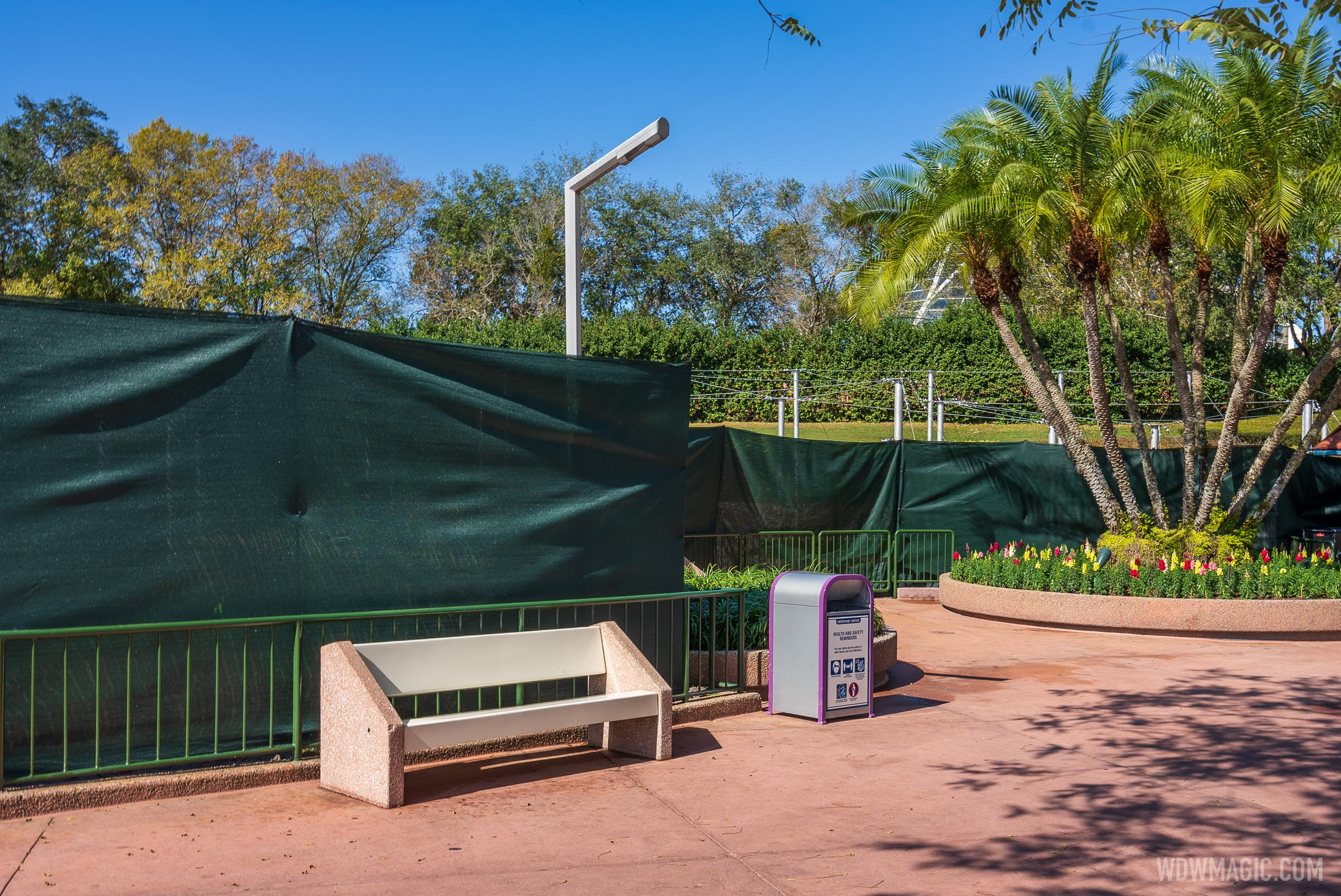 2021 Taste of EPCOT International Flower and Garden Festival preparations