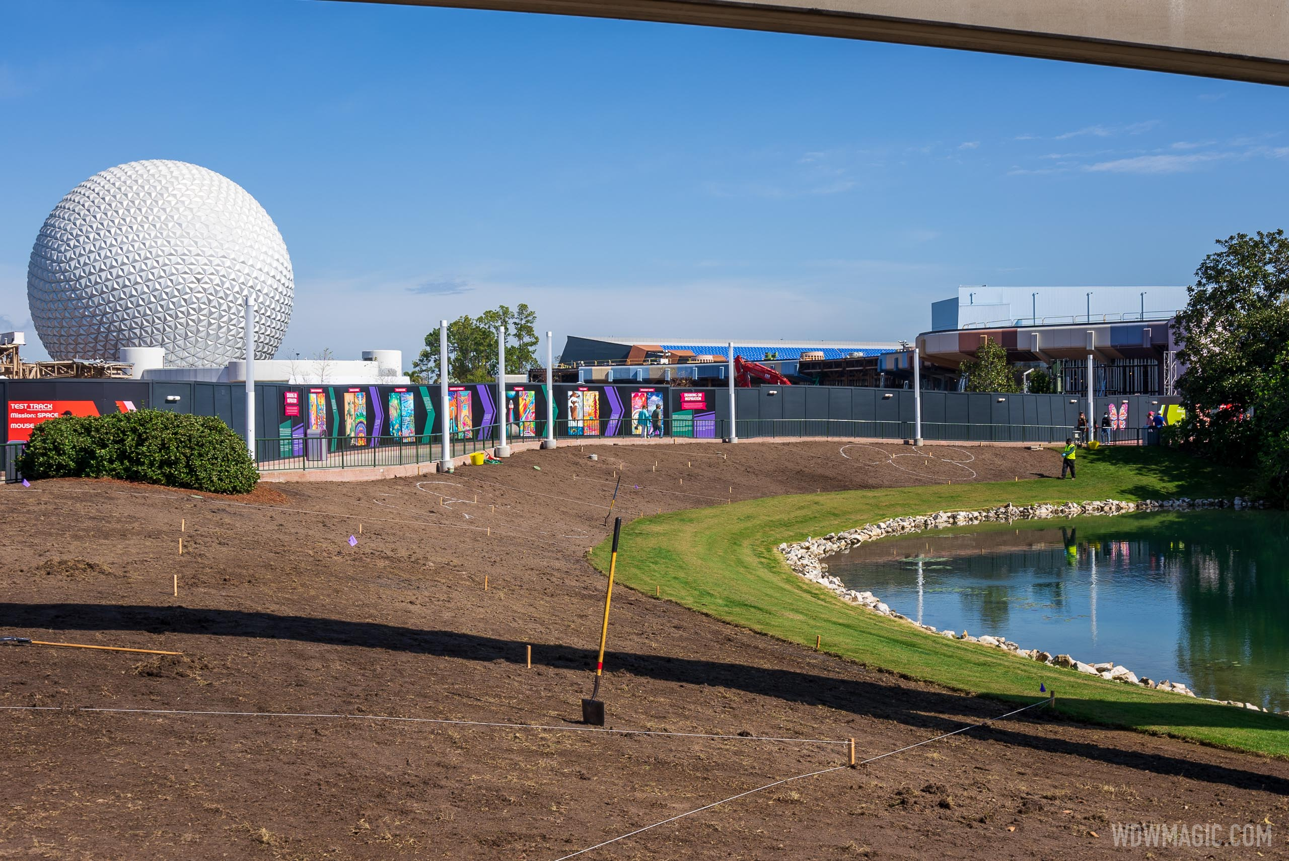2021 Taste of EPCOT International Flower and Garden Festival preparations