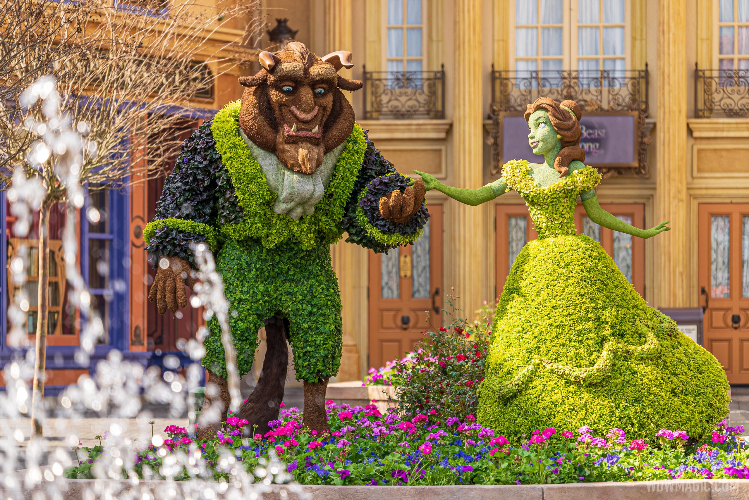 Beauty and the Beast – France Pavilion