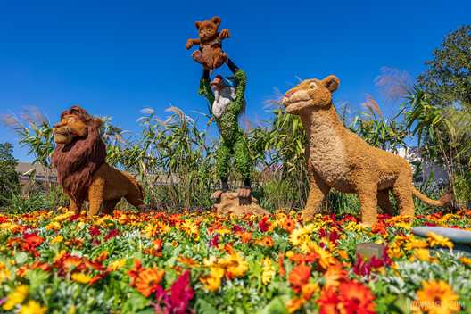 PHOTOS - Tour the topiary at the 2021 Taste of EPCOT International Flower and Garden Festival