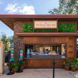 2021 Taste of EPCOT Flower and Garden Festival Outdoor Kitchen kiosks and menus