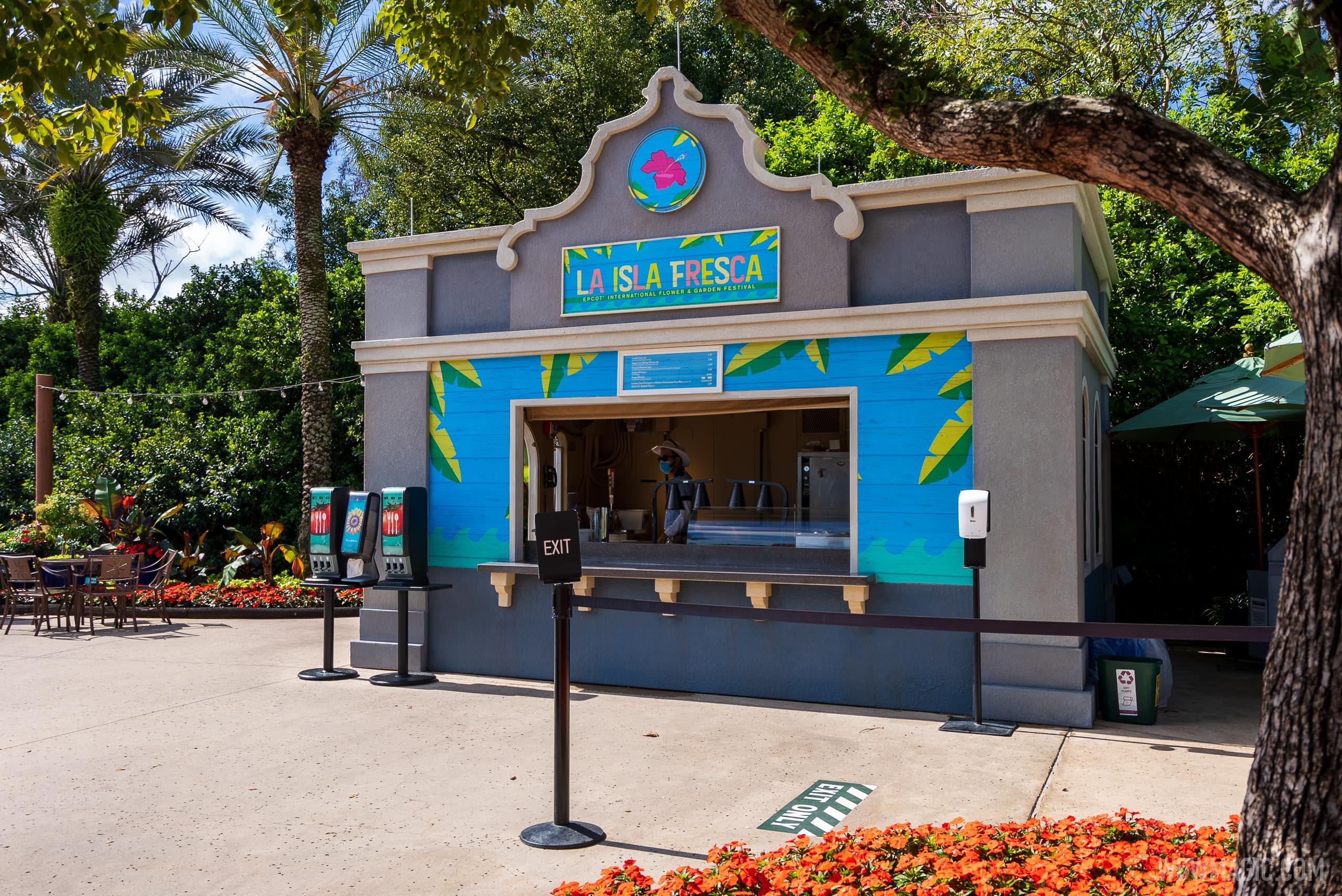 La Isla Fresca kiosk