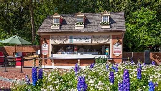 PHOTOS - EPCOT Flower and Garden Festival Outdoor Kitchen kiosks complete with menu pricing