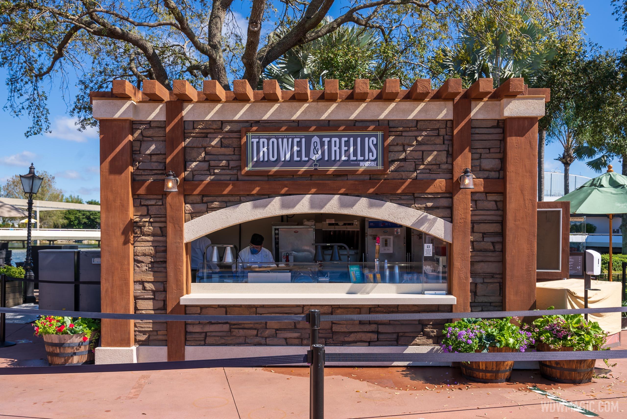 Trowel and Trellis kiosk