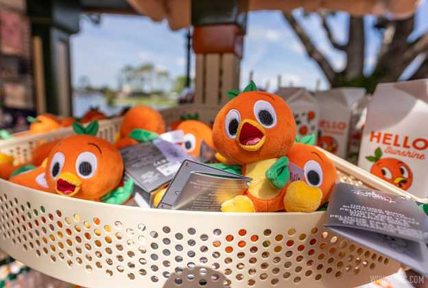 2021 Taste of EPCOT Flower and Garden Festival 'Hello Sunshine' Orange Bird merchandise