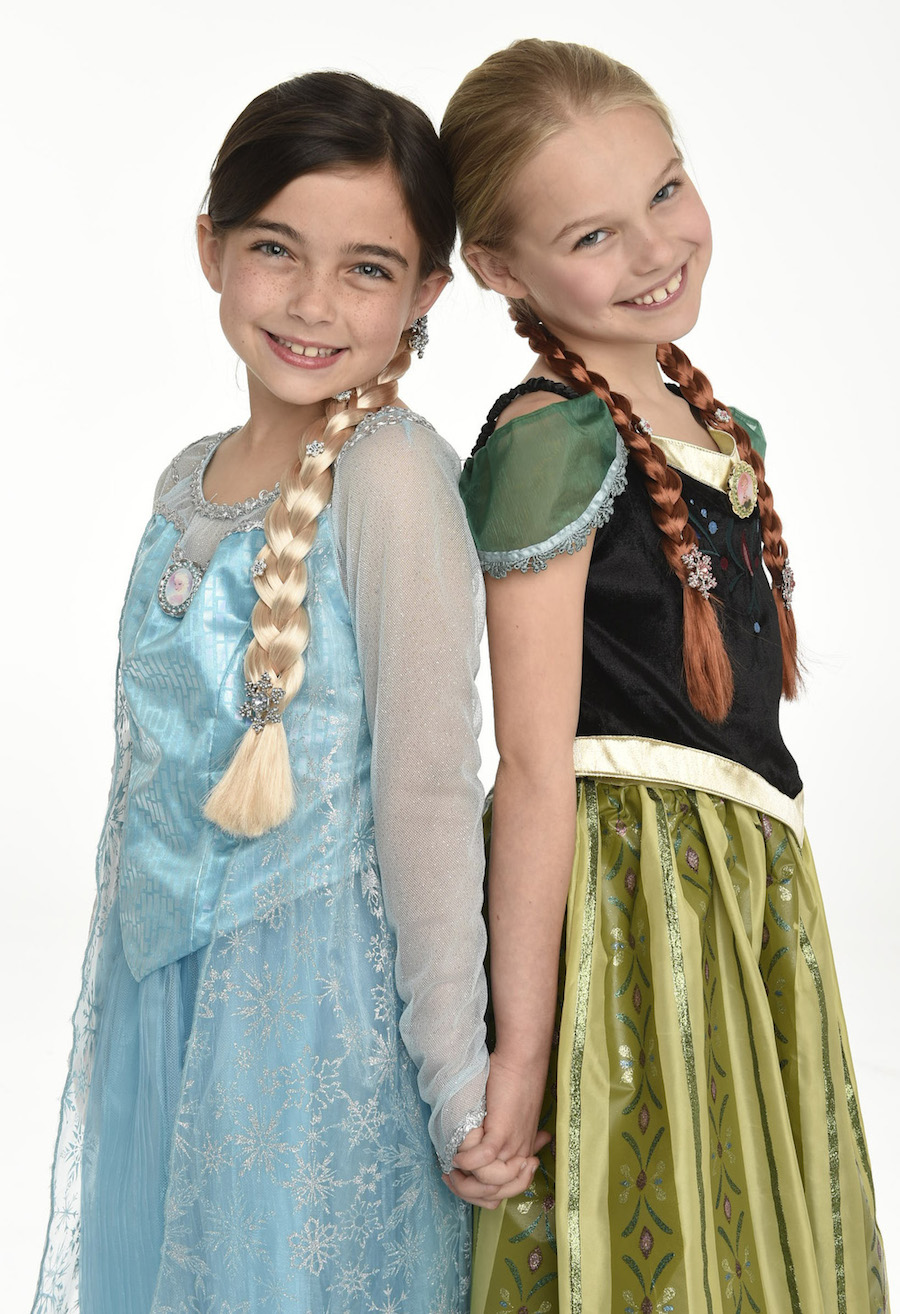 Ice Palace Boutique Anna and Elsa costume package