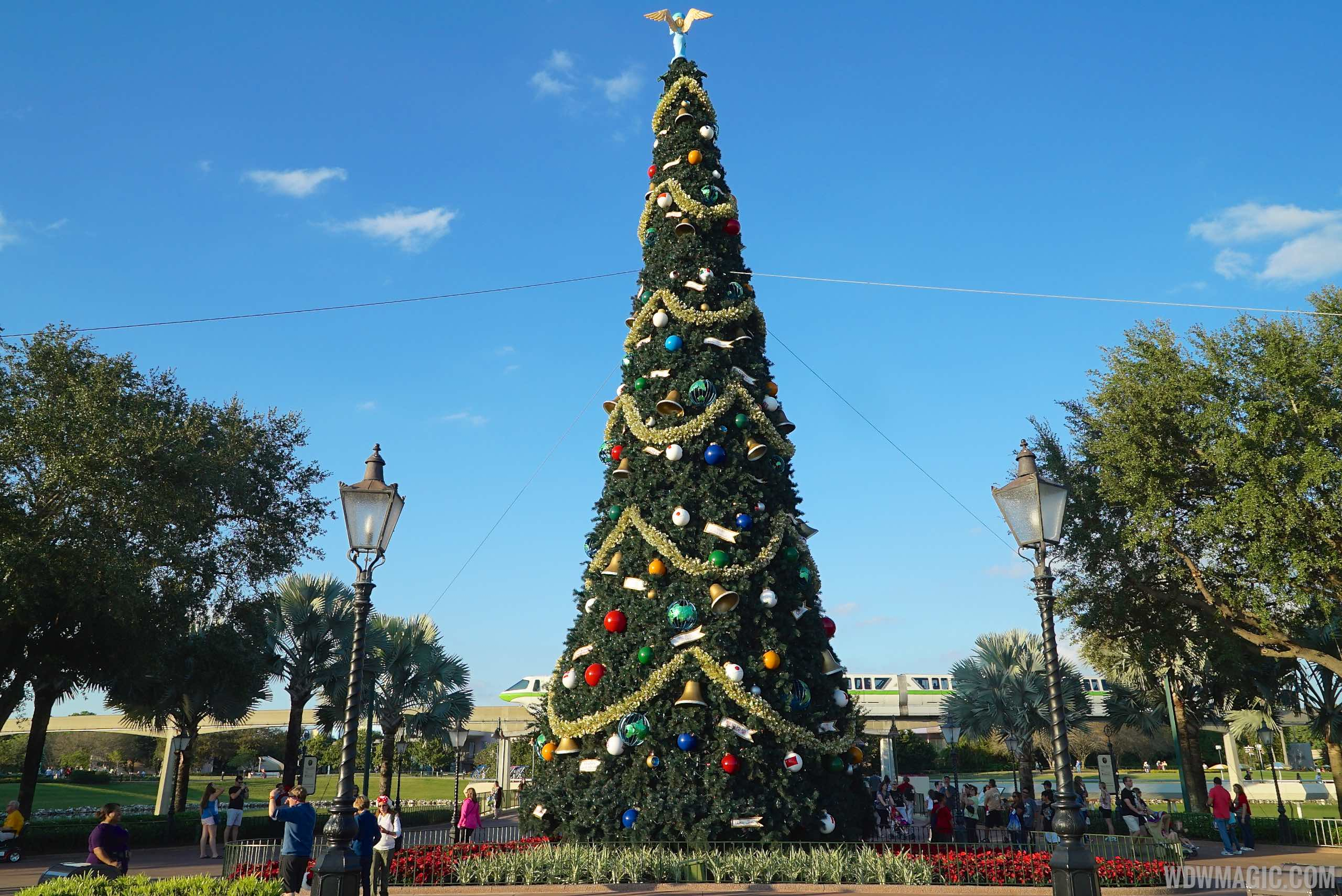 Epcot's Christmas Tree