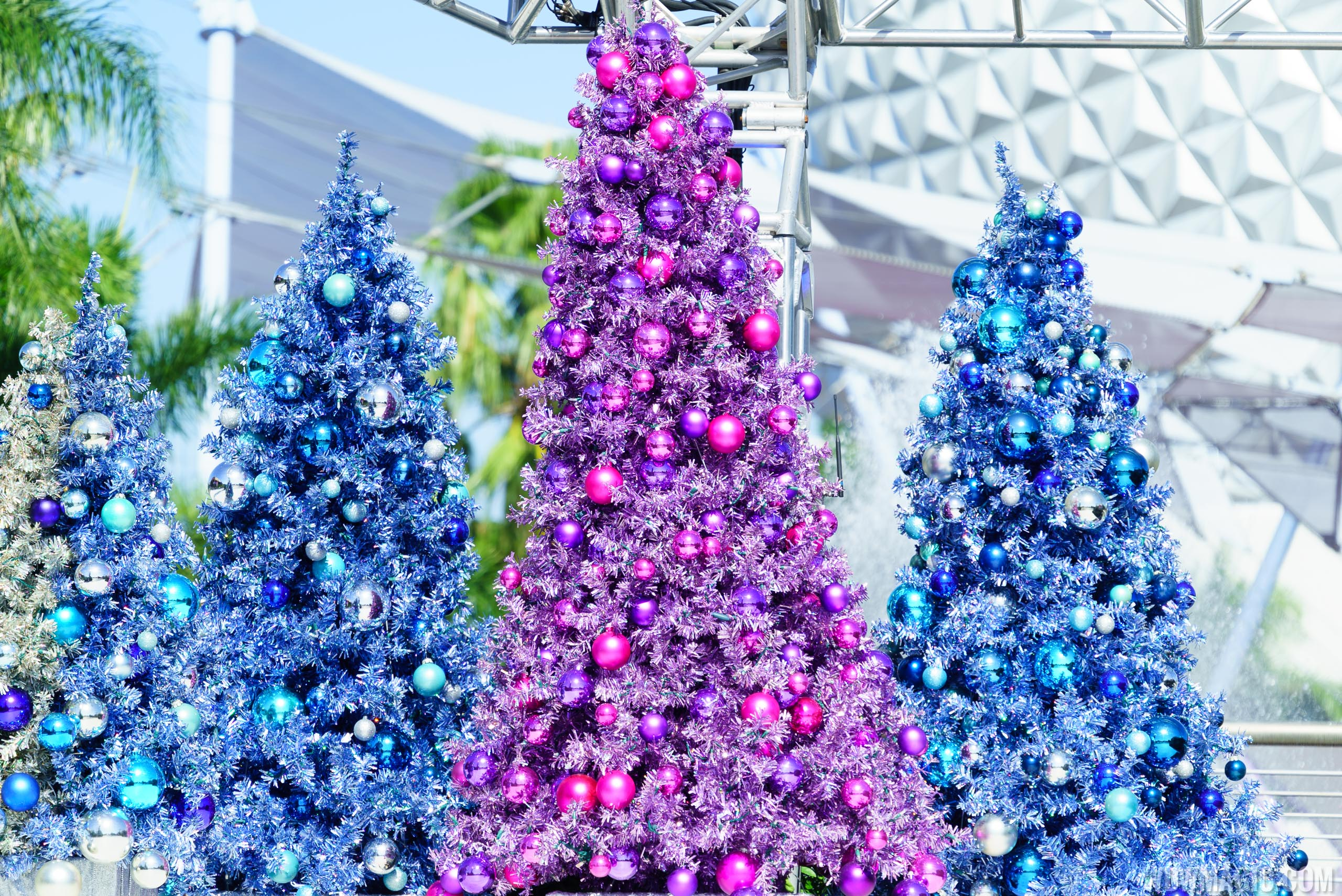 Future World Christmas Trees