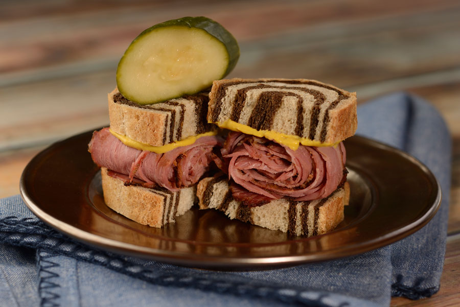 Pastrami on Rye from L'Chaim! Holiday Kitchen