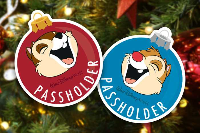 Passholder Magnet for the 2019 Epcot International Festival of the Holidays
