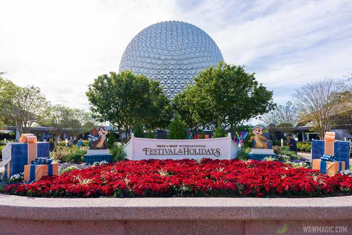 PHOTOS - Tour of the Holiday Kitchens and menus at the 2020 Taste of EPCOT International Festival of the Holidays