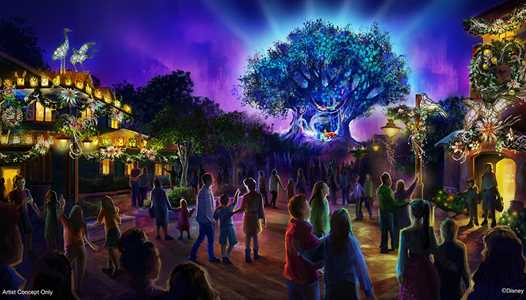 Holiday decor and entertainment to expand to all lands at Disney's Animal Kingdom in 2019