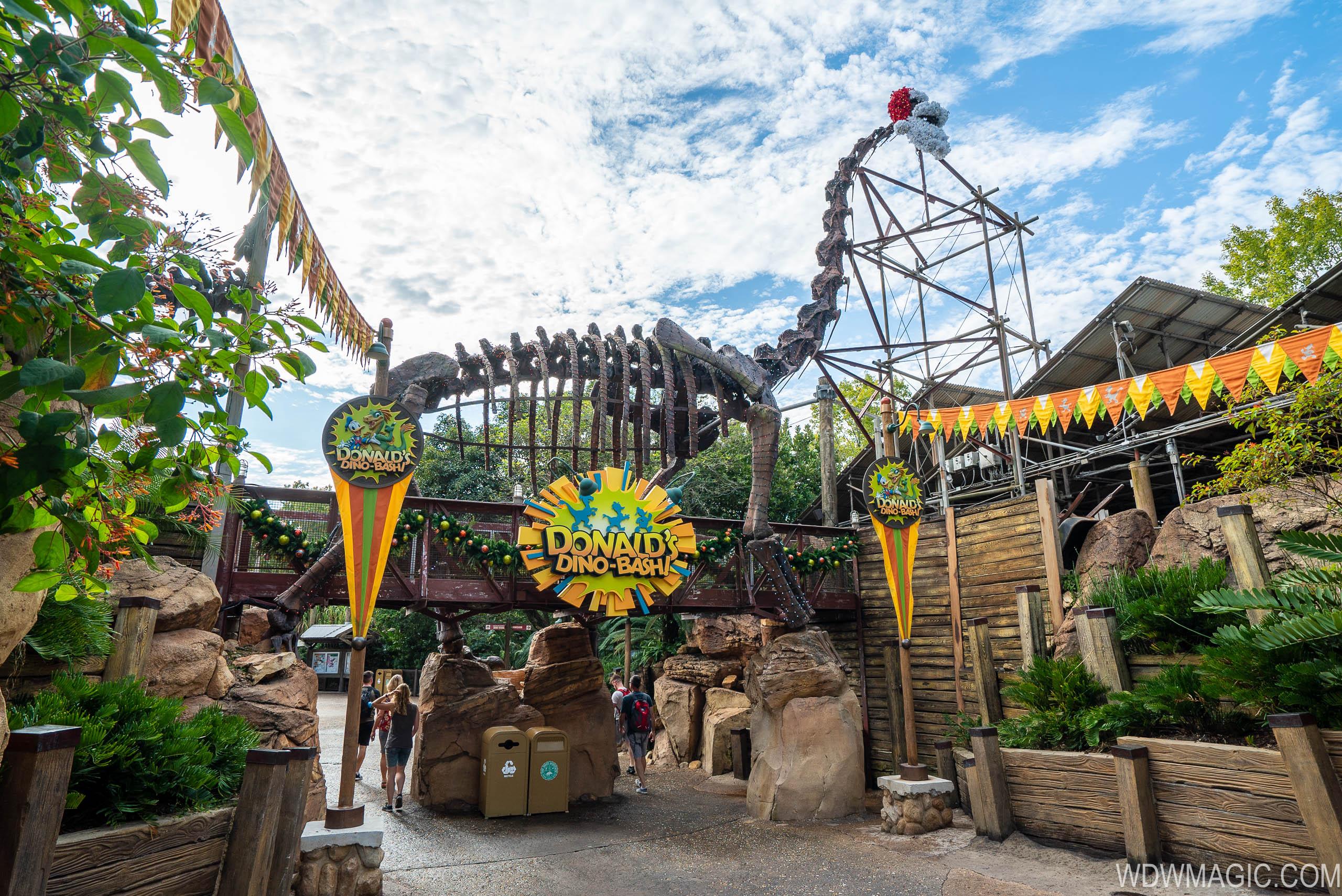 Entrance to DinoLand U.S.A