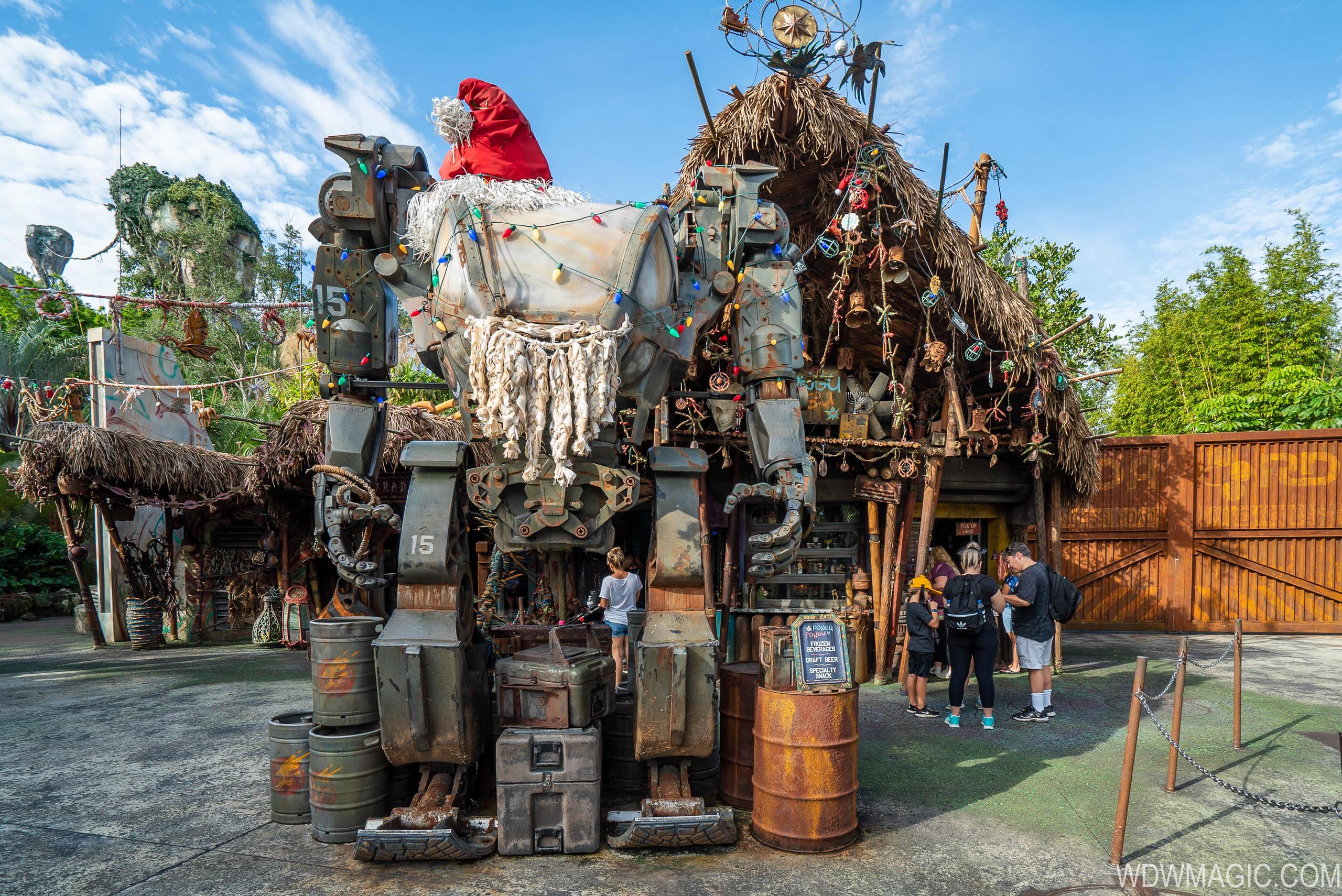 Disney's Animal Kingdom Christmas Holiday decor 2019