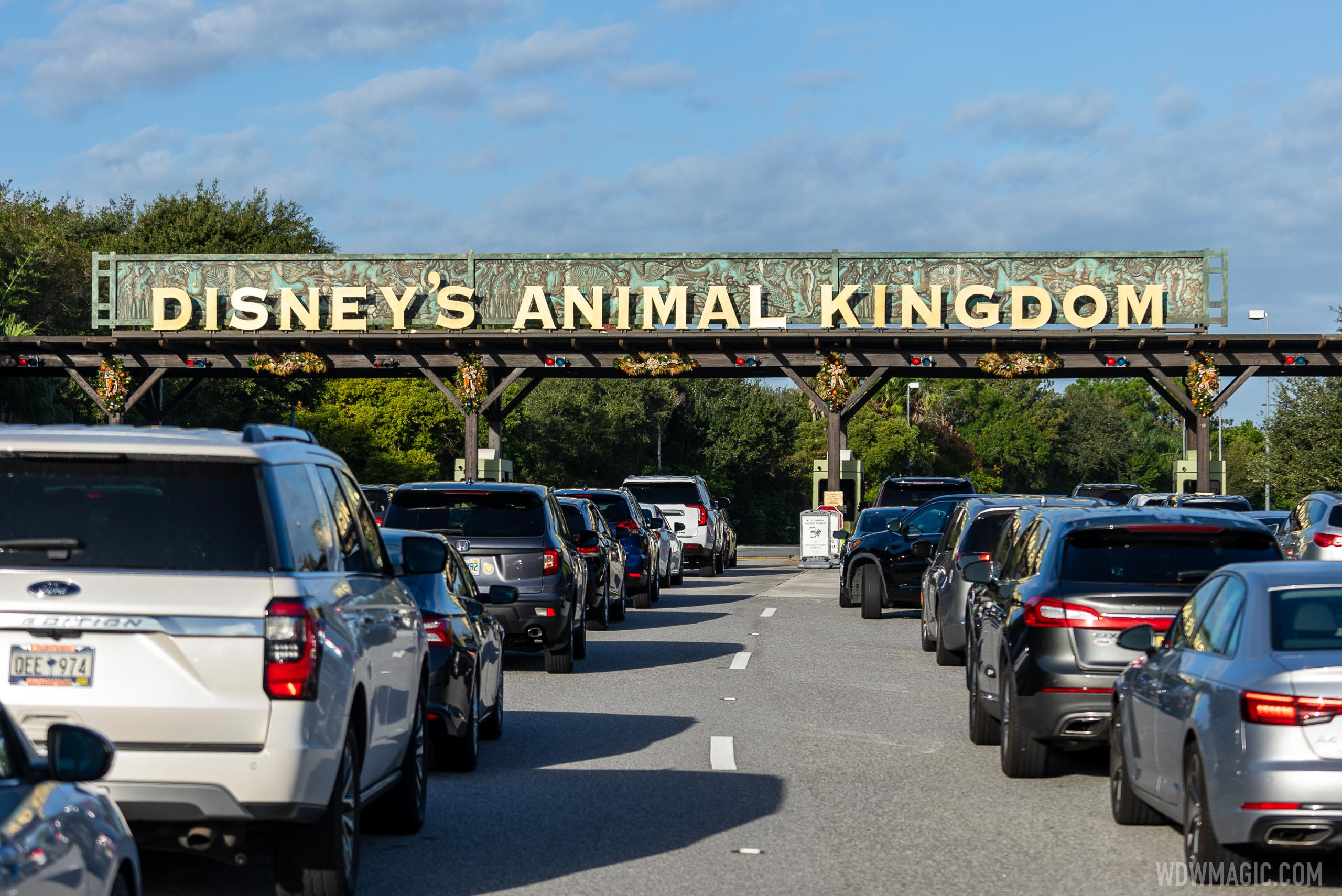 Disney's Animal Kingdom Christmas Holiday decor 2020