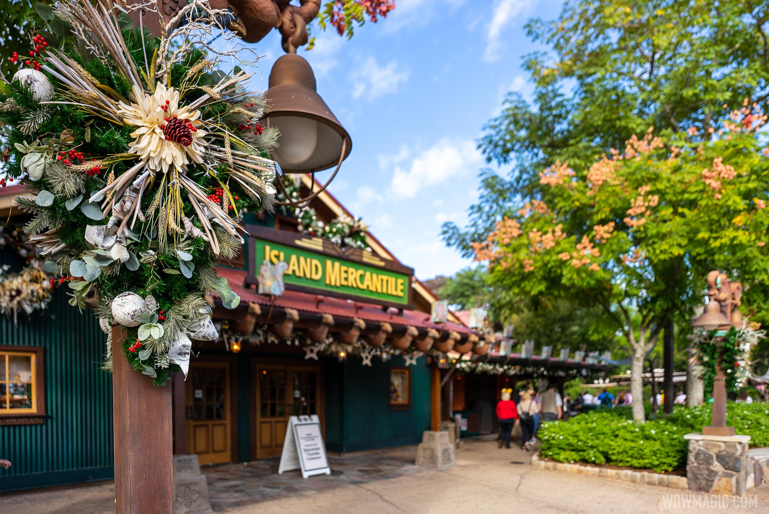 Disney's Animal Kingdom Christmas Holiday decor 2020