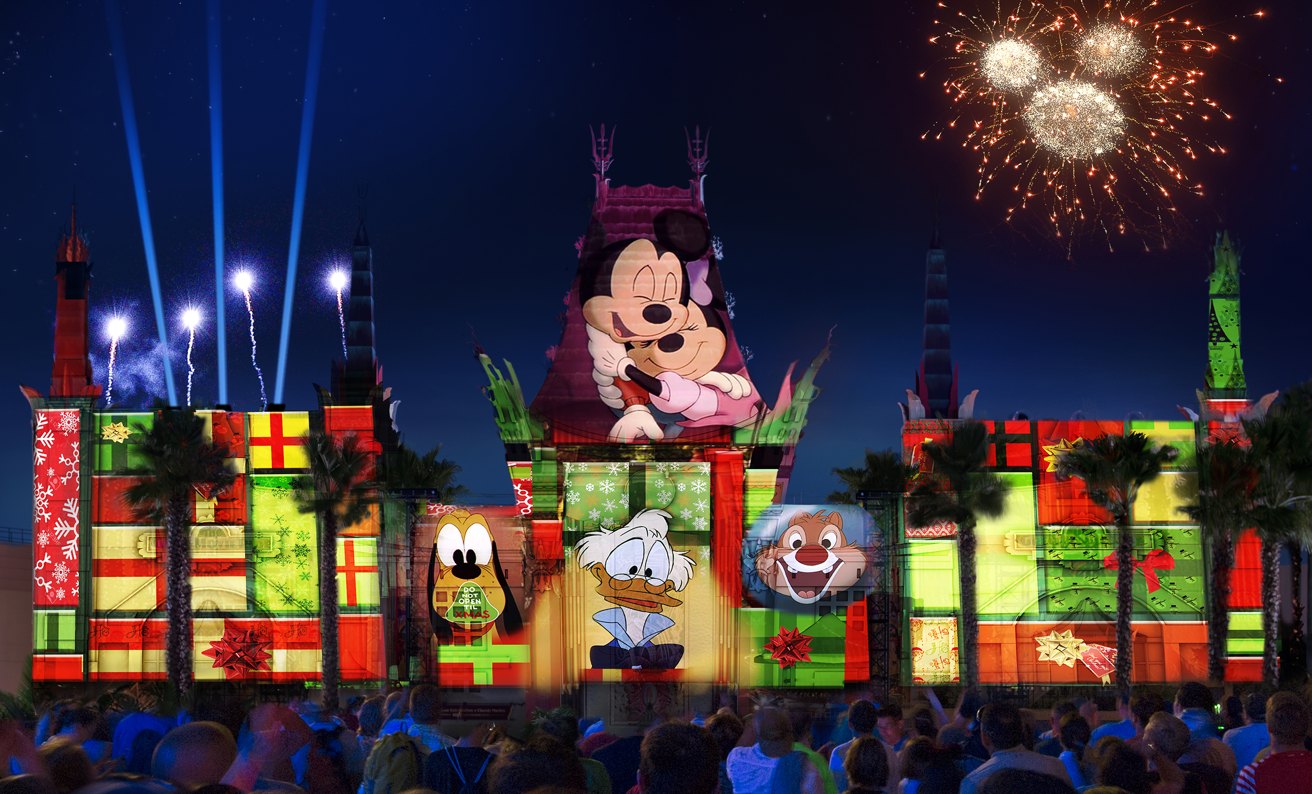 christmas holiday season line up announced for walt disney world 2018