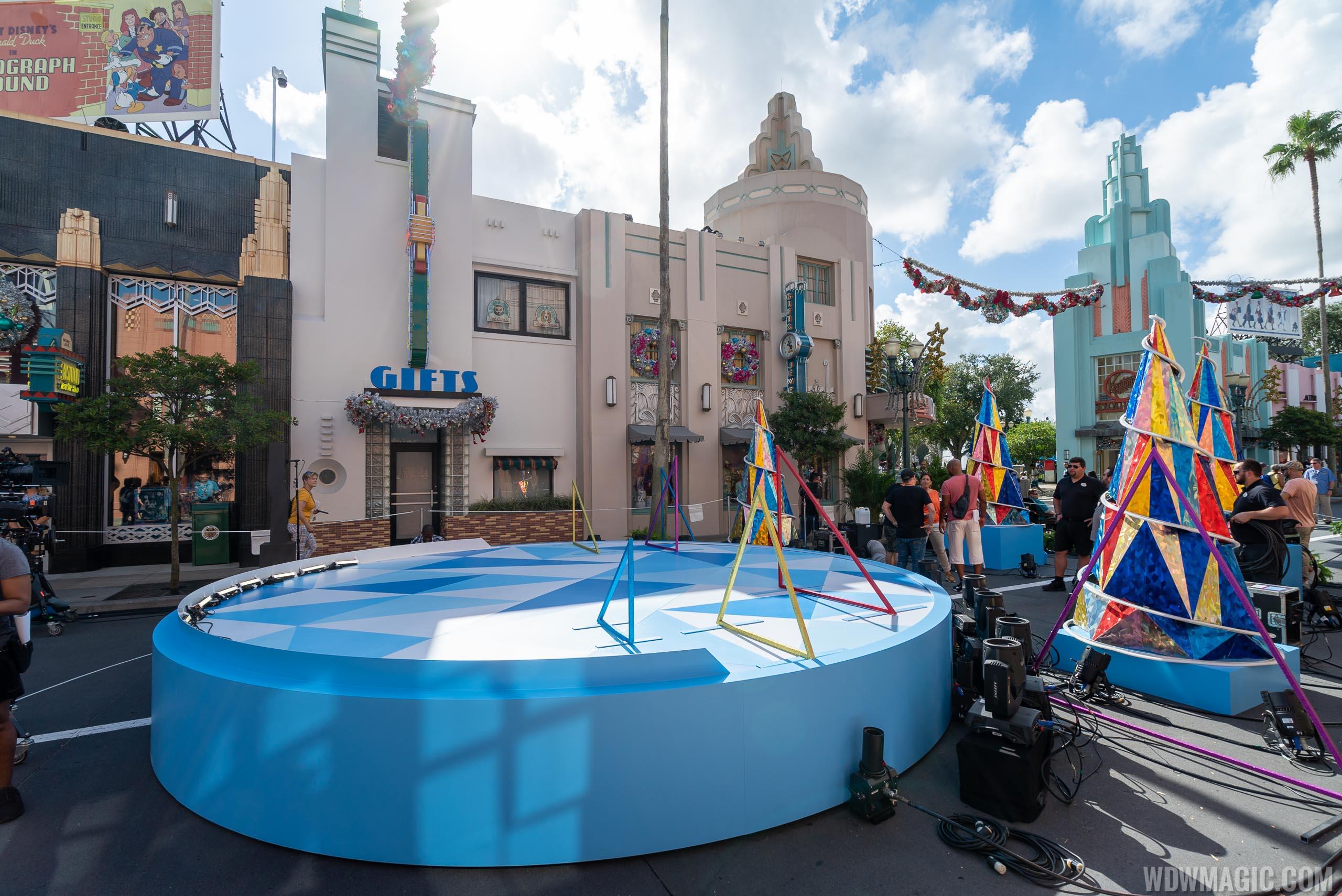 ABC Holiday Specials filming at Disney's Hollywood Studios 2019