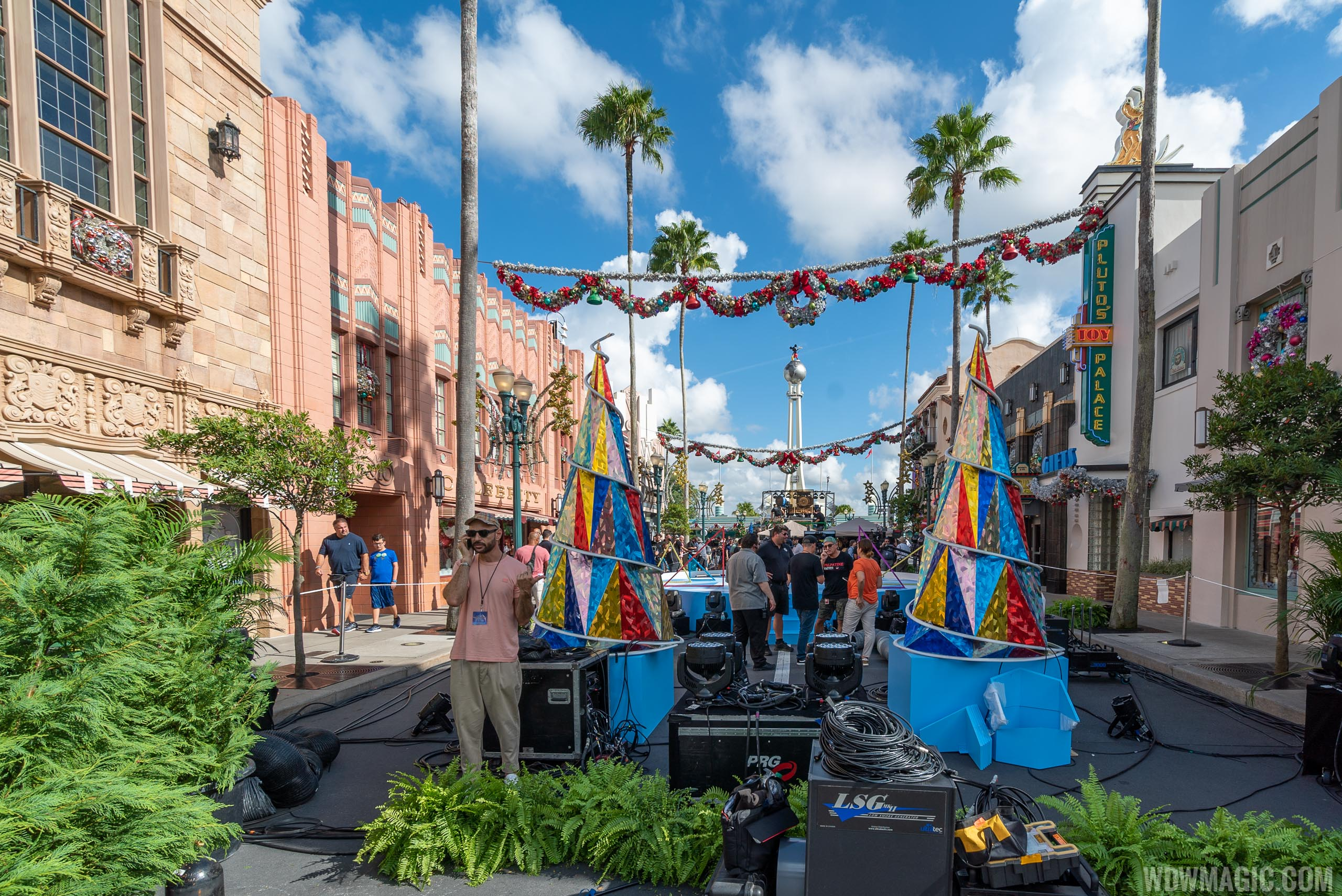 ABC Holiday Specials filming at Disney's Hollywood Studios 2019
