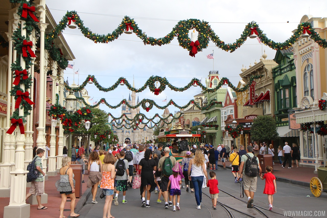 The original Main Street garland from 2013