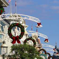 New Magic Kingdom Main Street U.S.A. holiday decor