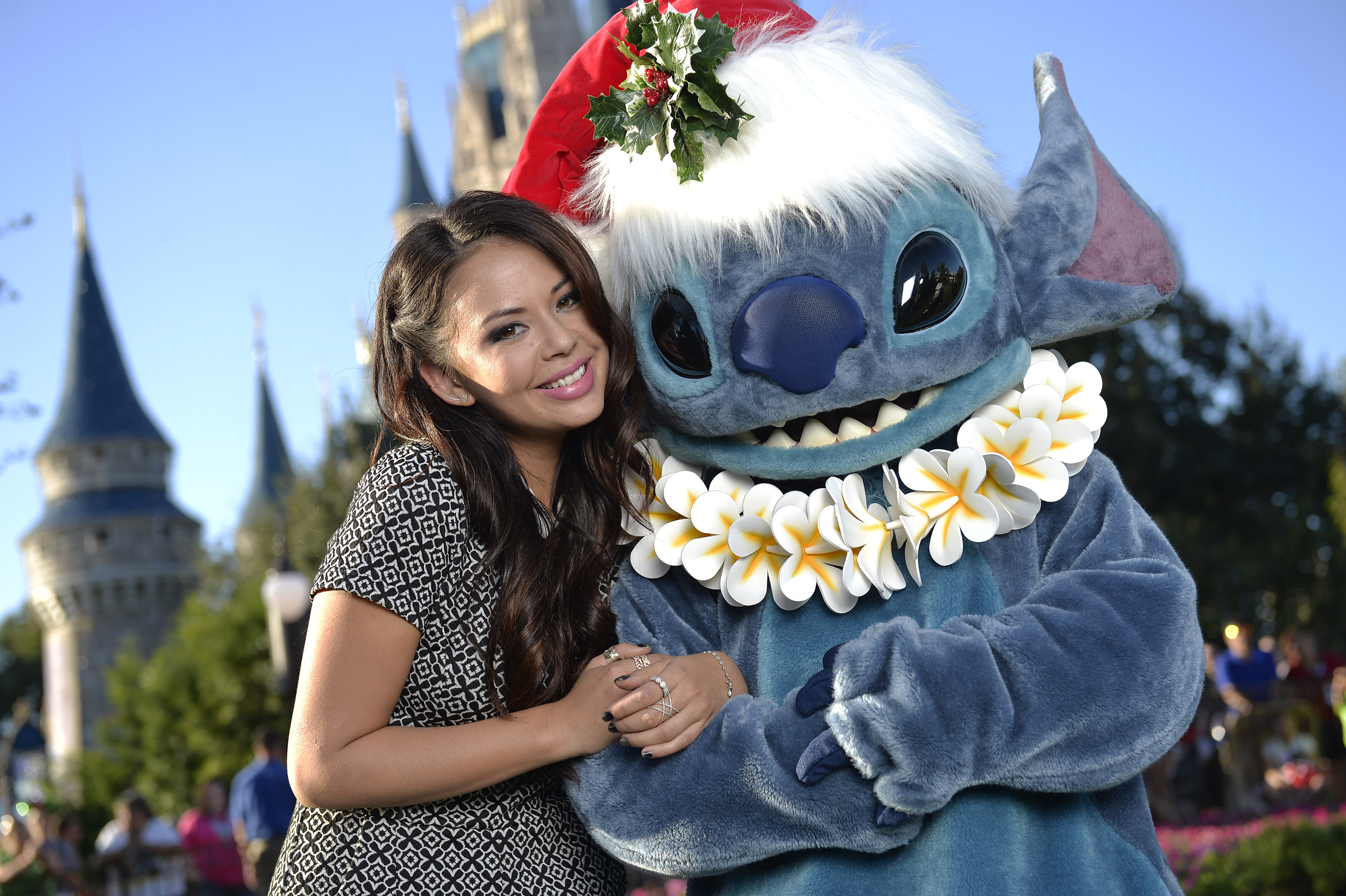 Disney Parks Unforgettable Christmas Celebration performance - Janel Parrish