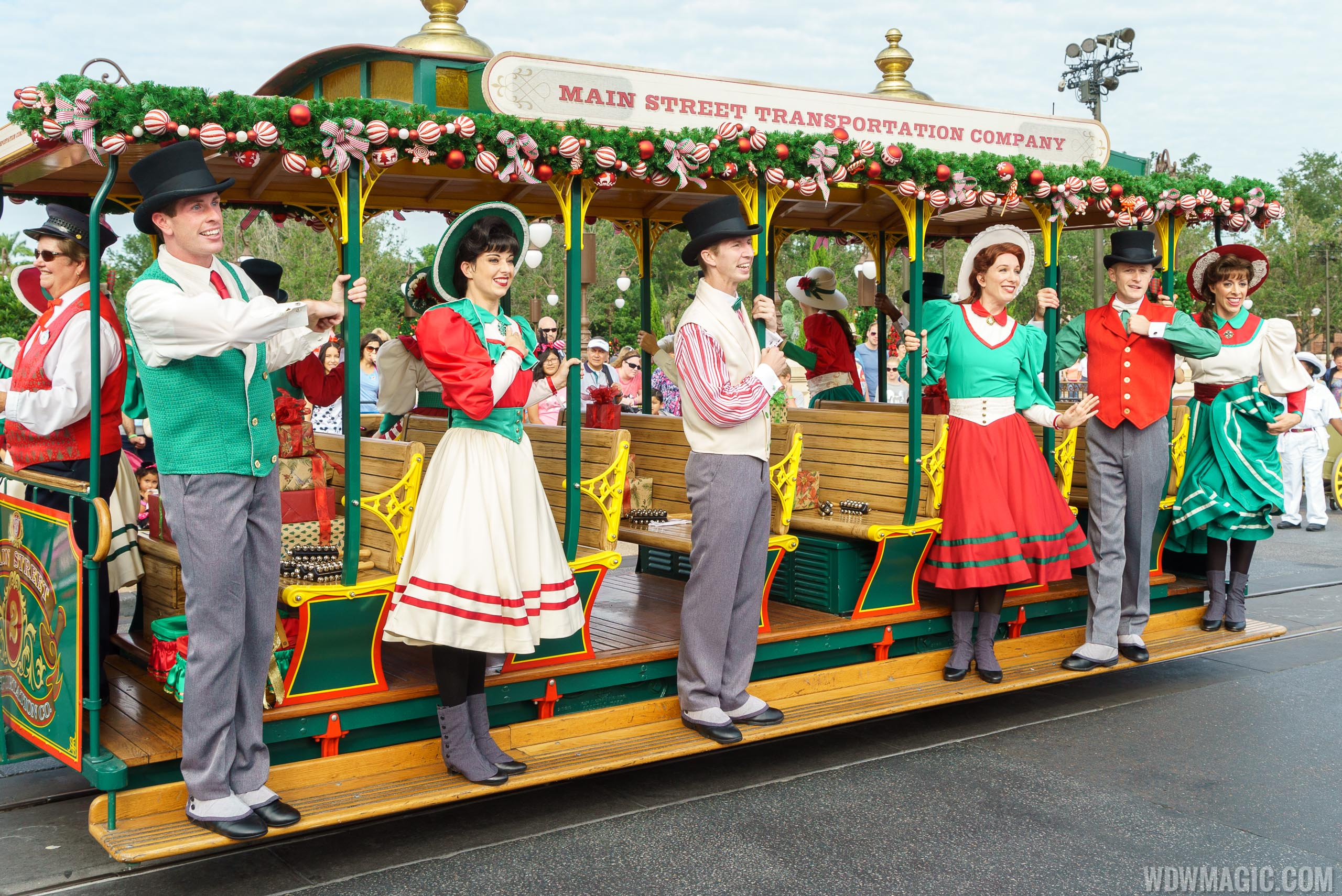 Main Street Trolley Show Holiday edition