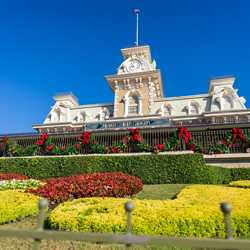 Magic Kingdom Christmas Holiday decorations 2020