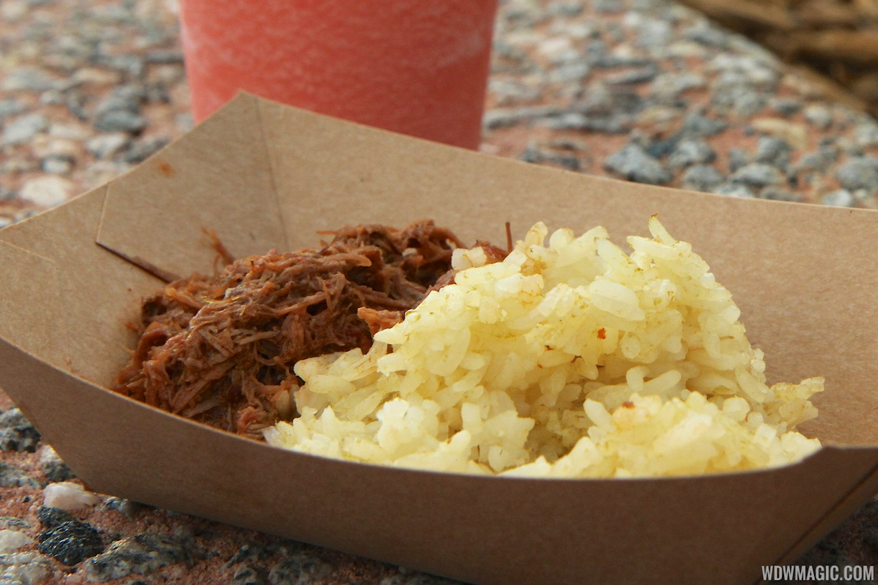 2012 Food and Wine Festival foods