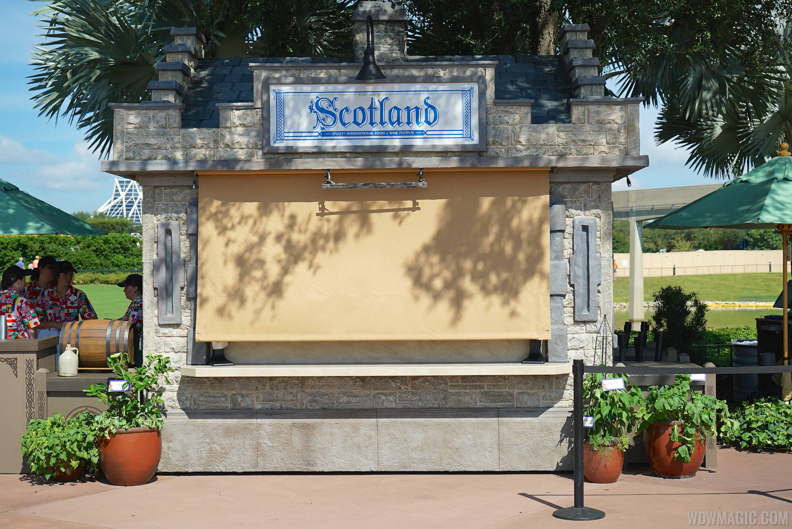 Scotland kiosk