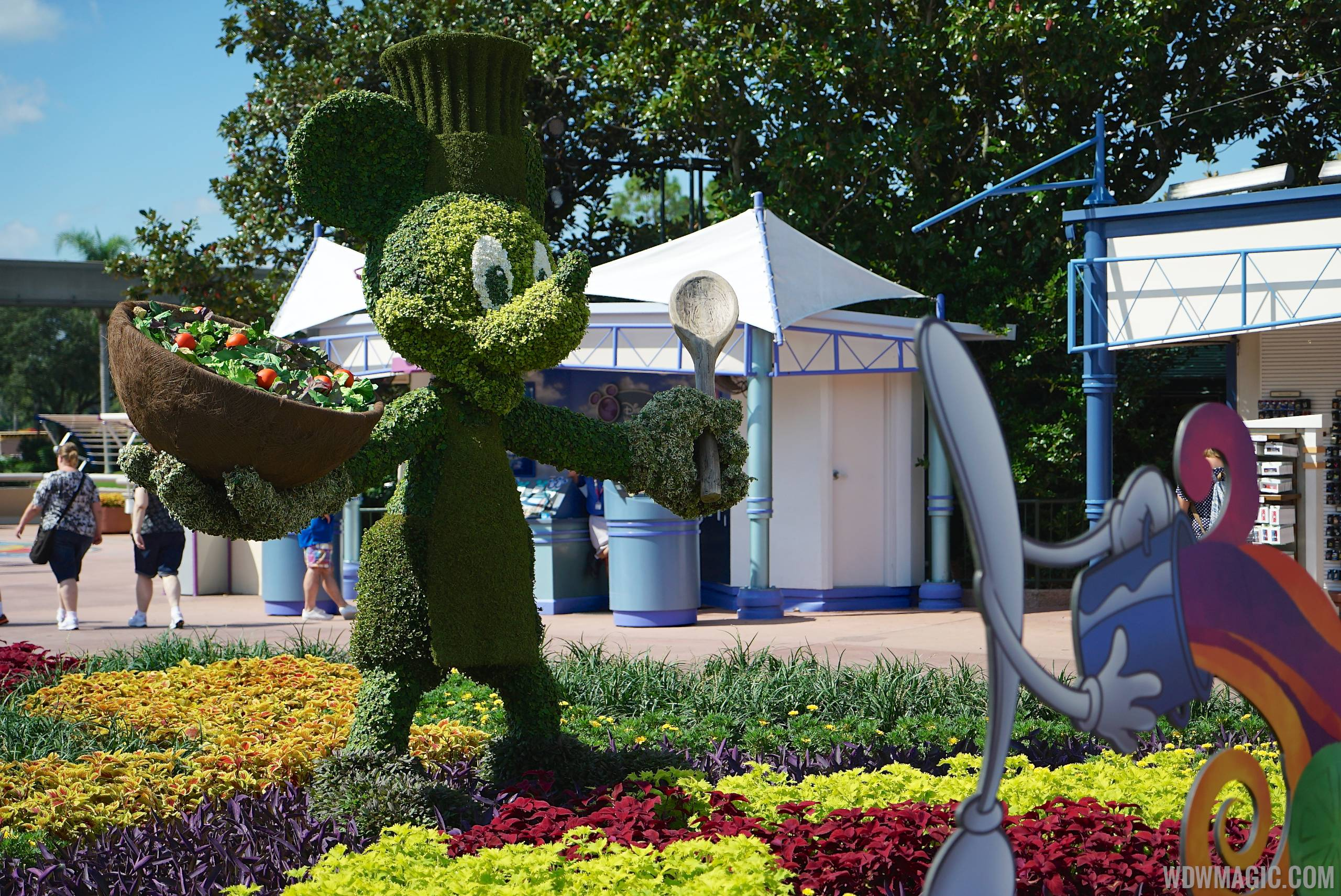 2014 Epcot Food and Wine Festival decor