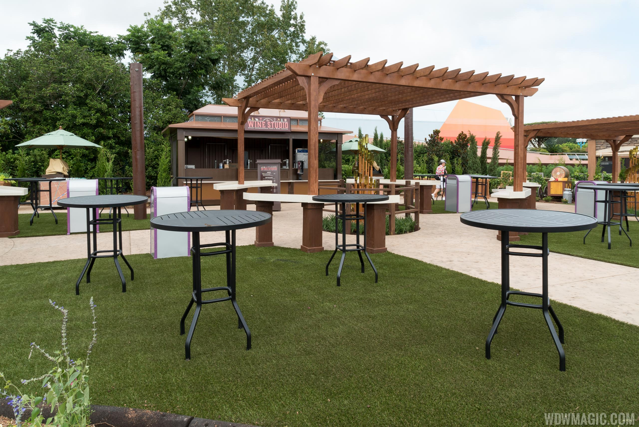 2015 Epcot Food and Wine Festival - Wine Studio