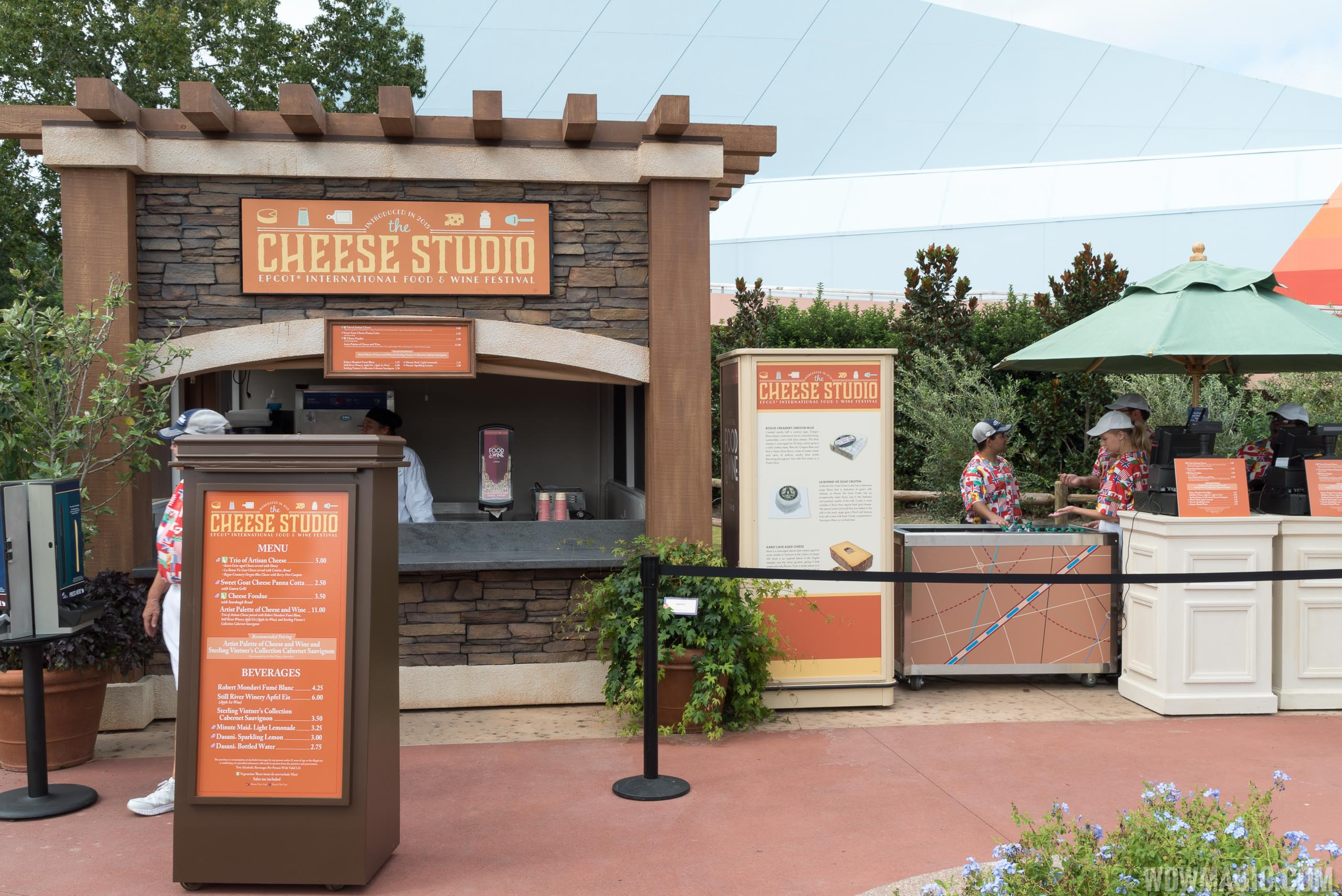 2015 Epcot Food and Wine Festival - Cheese Studio