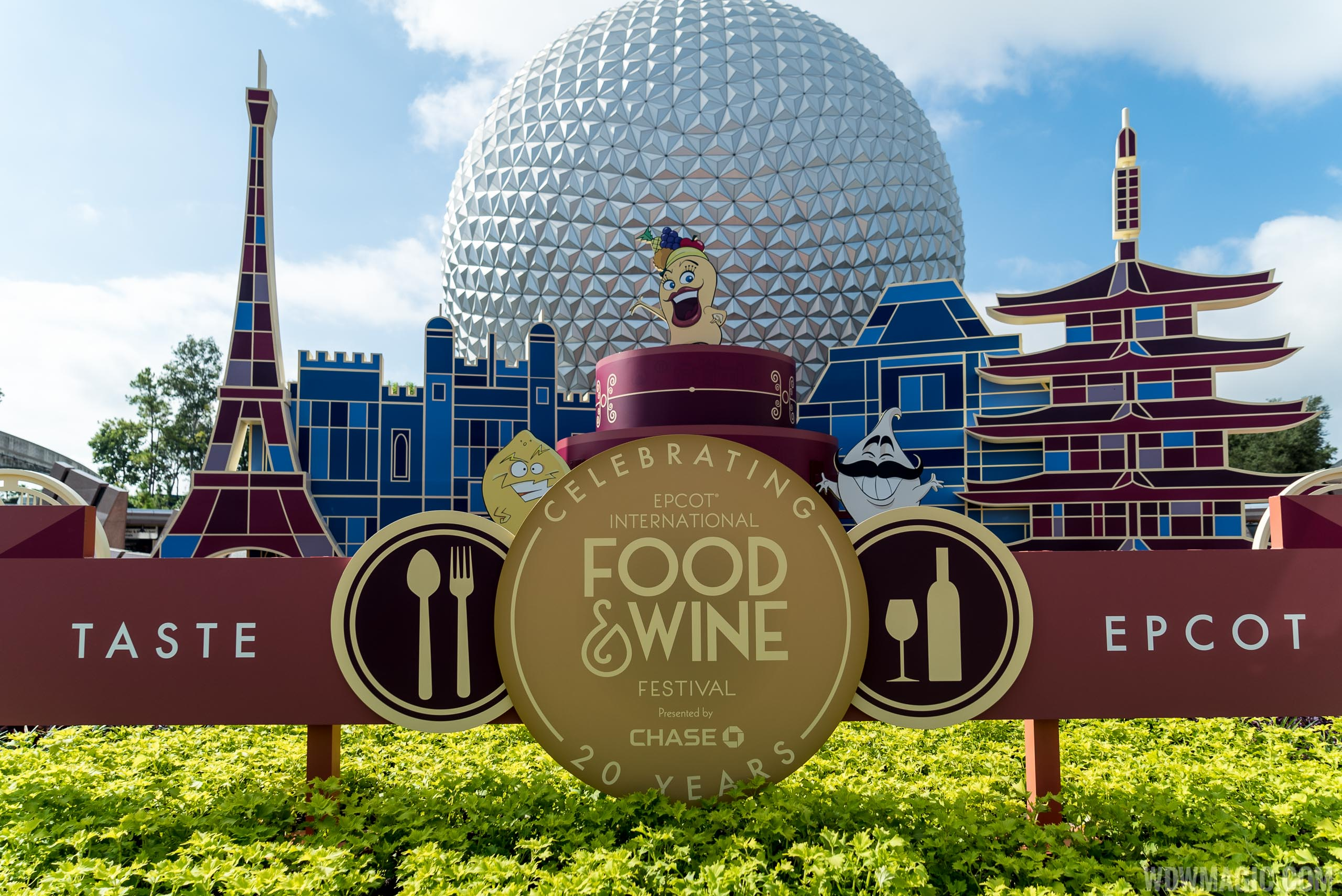 Epcot Food and Wine Festival overview