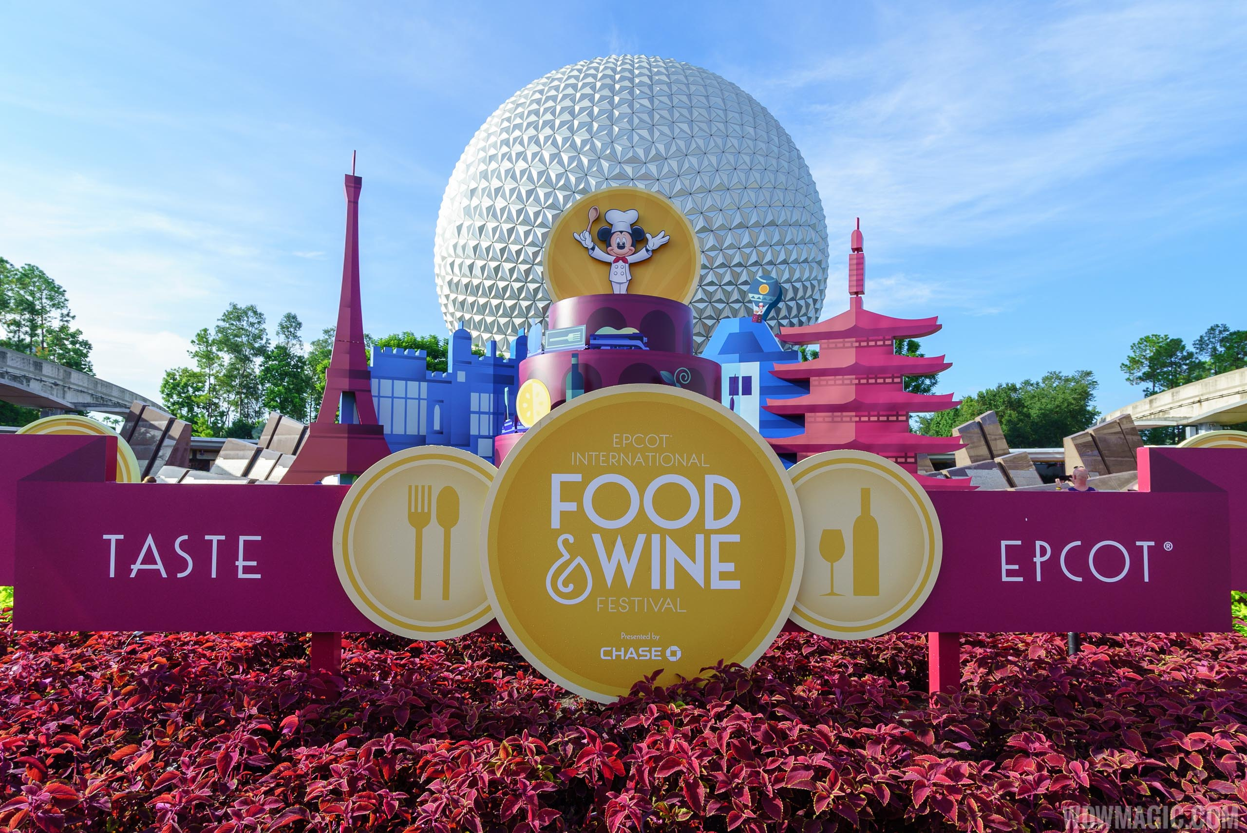 2016 Epcot Food and Wine Festival - Main entrance