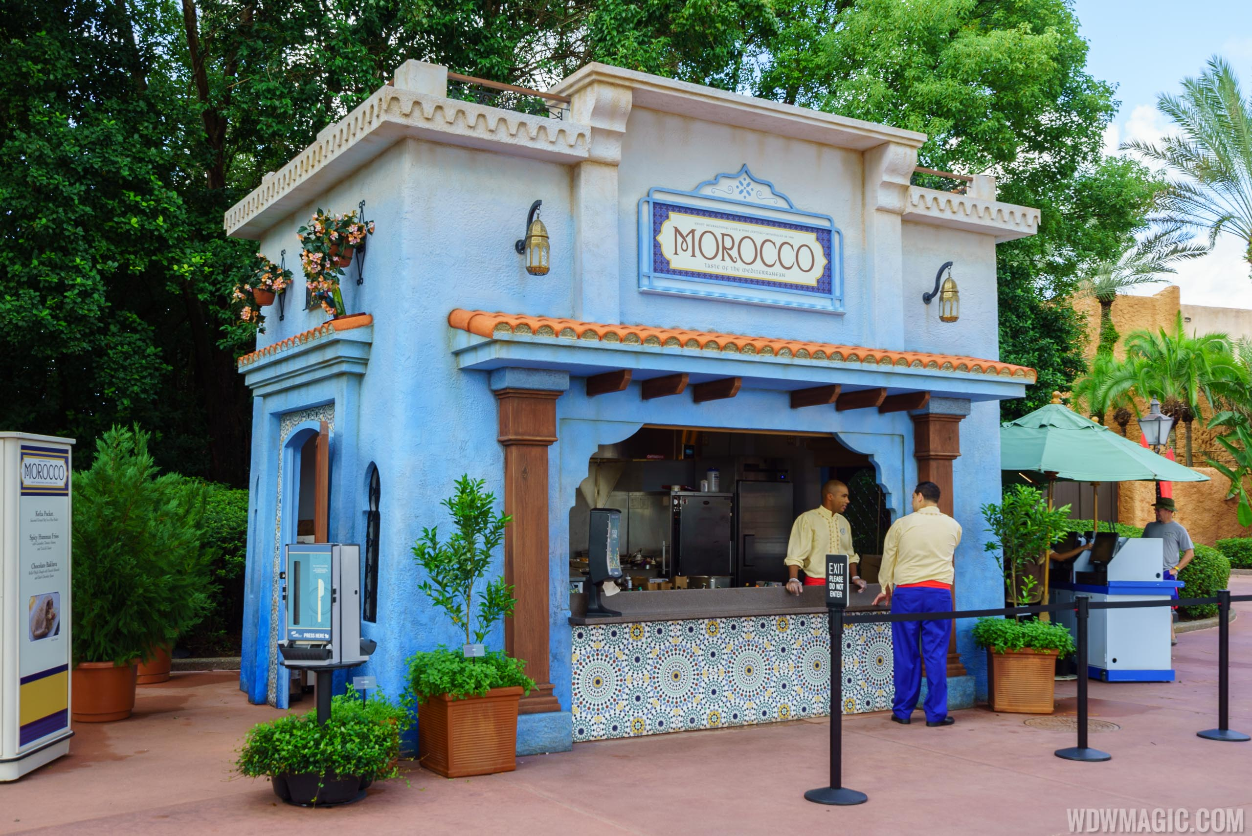 2016 Epcot Food and Wine Festival - Morocco Kiosk