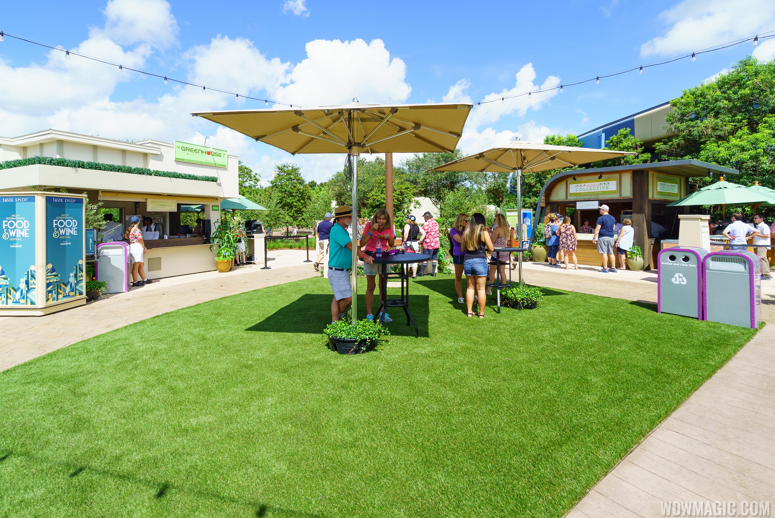 2016 Epcot Food and Wine Festival - The Chew area